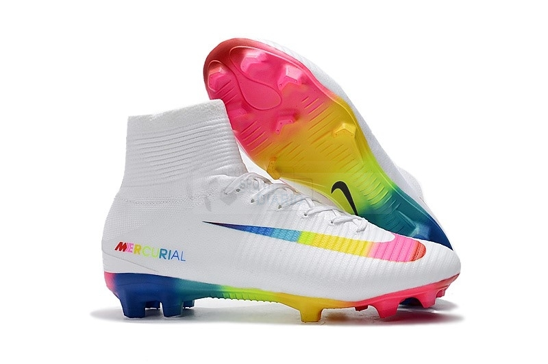 Oferta Botas Nike Mercurial Superfly V FG Blanco Multicolor
