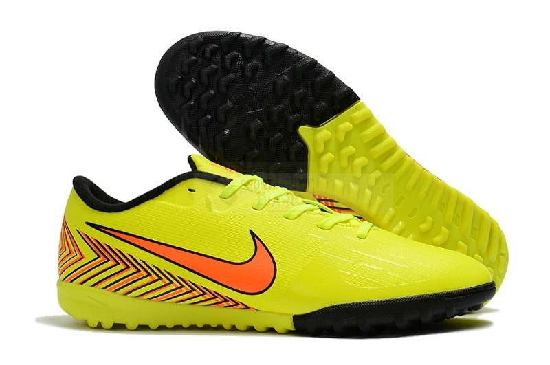 new products 96749 dbc7d ... authentic oferta botas nike mercurial vapor xii mujer tf amarillo  naranja negro 992d2 5d3e6 ...