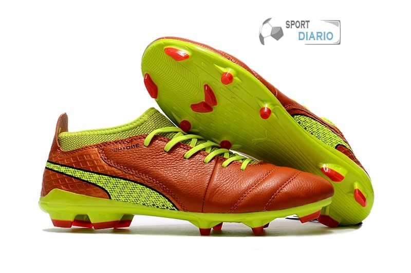 Oferta Botas Puma One Leather 18.1 Syn FG Verde