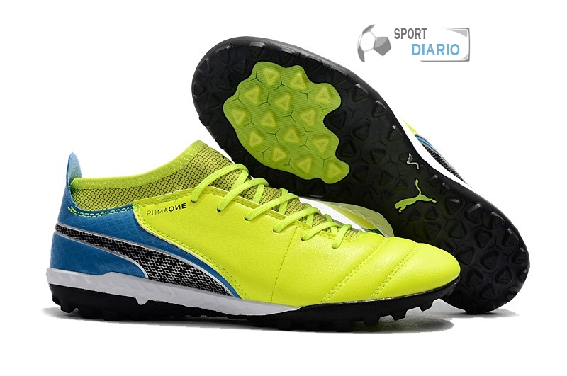 Oferta Botas Puma One Leather 18.1 Syn TF Amarillo
