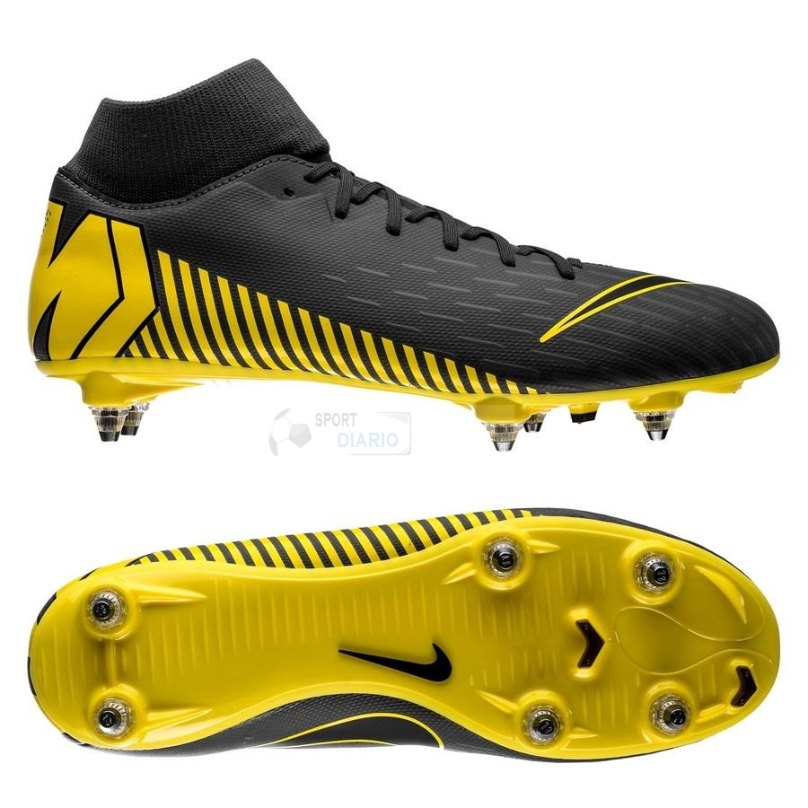 Oferta Botas Nike Mercurial Superfly 6 Academy SG PRO Game Over Negro Amarillo
