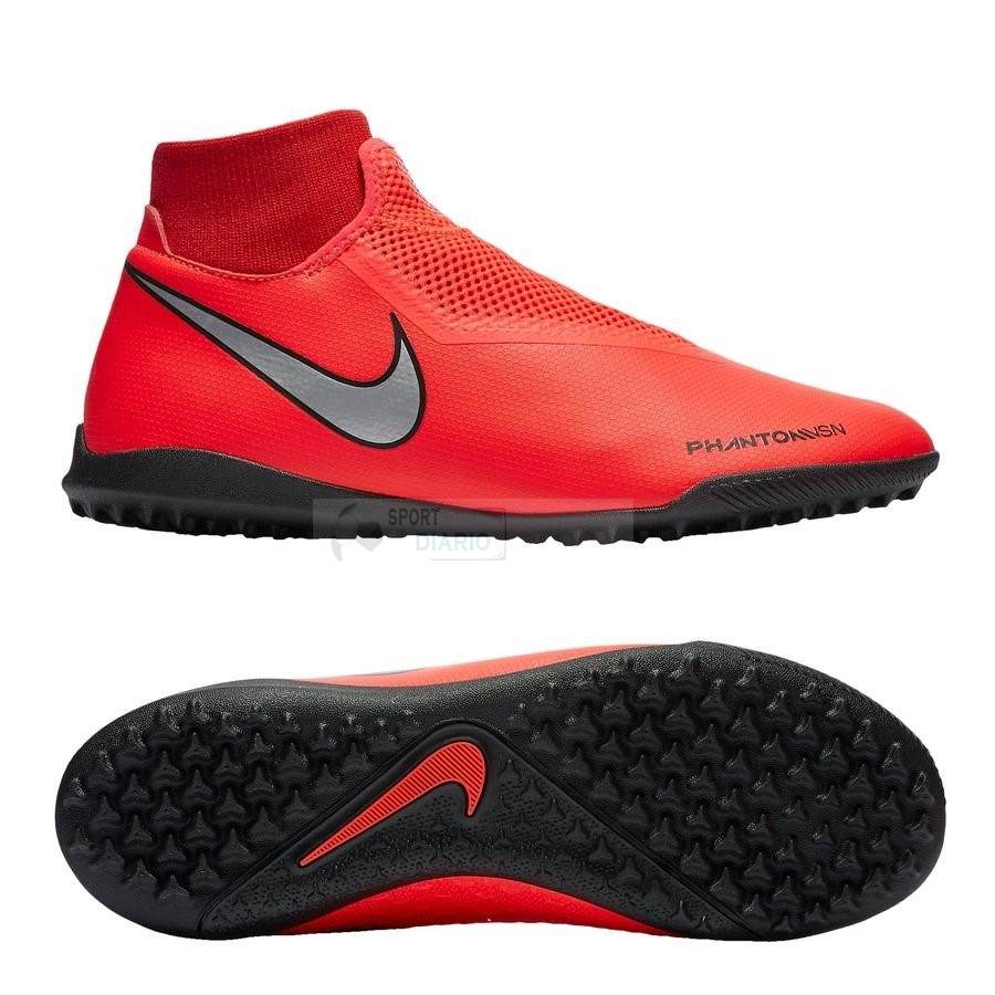 Oferta Botas Nike Phantom Vision Academy DF TF Game Over Rojo