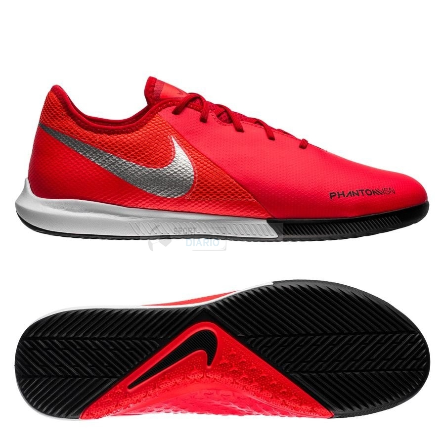 Oferta Botas Nike Phantom Vision Academy IC Game Over Rojo Plata