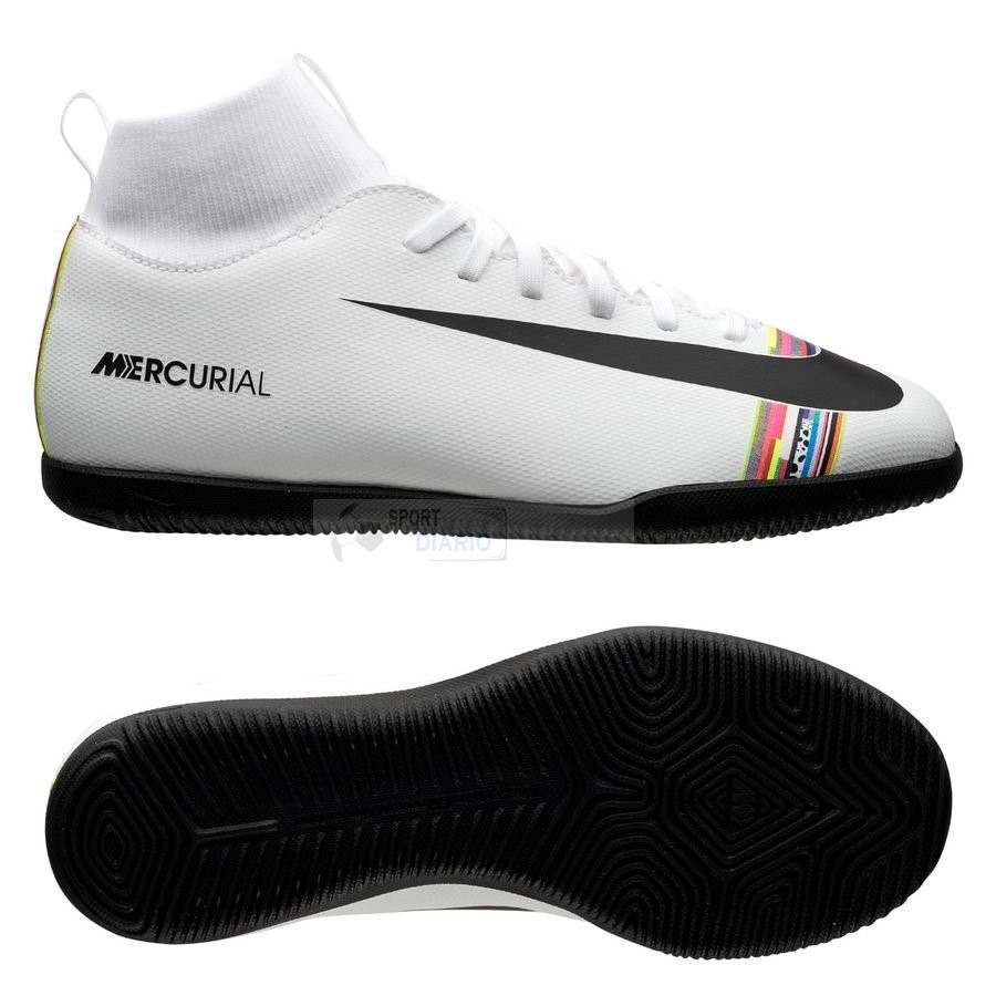 Oferta Botas Nike Mercurial Superfly 6 Club Niños IC LVL UP Blanco