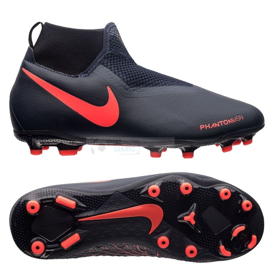 Oferta Botas Nike Phantom Vision Academy Niños DF MG Fully Charged Negro
