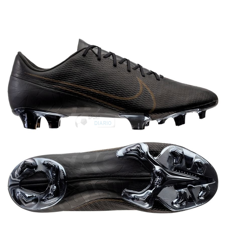 Oferta Botas Nike Mercurial Vapor 13 Elite Leather Negro FG Marron