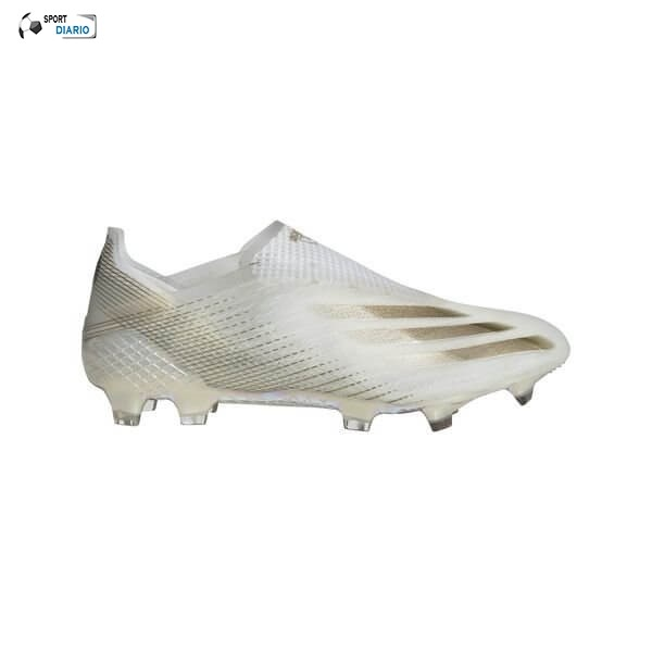 Oferta Botas Adidas X Ghosted + Mujer FG/AG Inflight Blanco Negro Oro