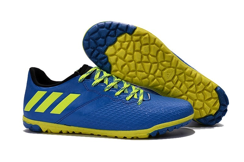 new arrival 38ad9 cba68 ... official store oferta botas adidas messi 16.3 tf azul amarillo 58c36  7c1fe