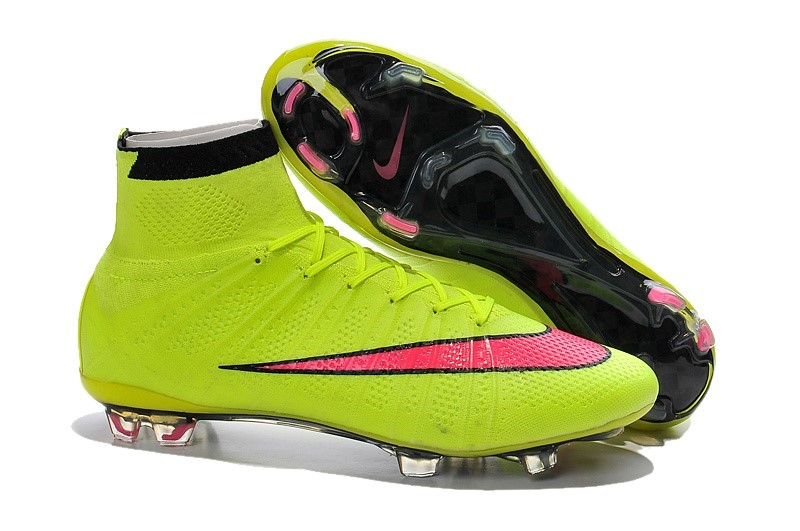 detailed look 6f0d7 ed8dc Oferta Botas Nike Mercurial Superfly Niños FG Amarillo Rojo