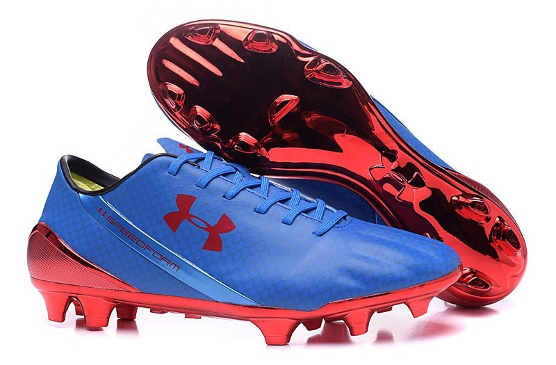 Oferta Botas Under Armour Speedform FG Azul