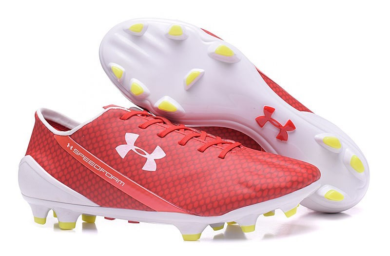 Oferta Botas Under Armour Speedform FG Rojo